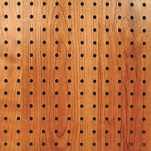 DPI 4 ft. x 8 ft. Windsor Cherry Pegboard