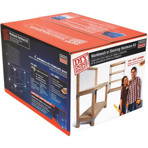 Simpson Strong-Tie Workbench & Shelf Kit