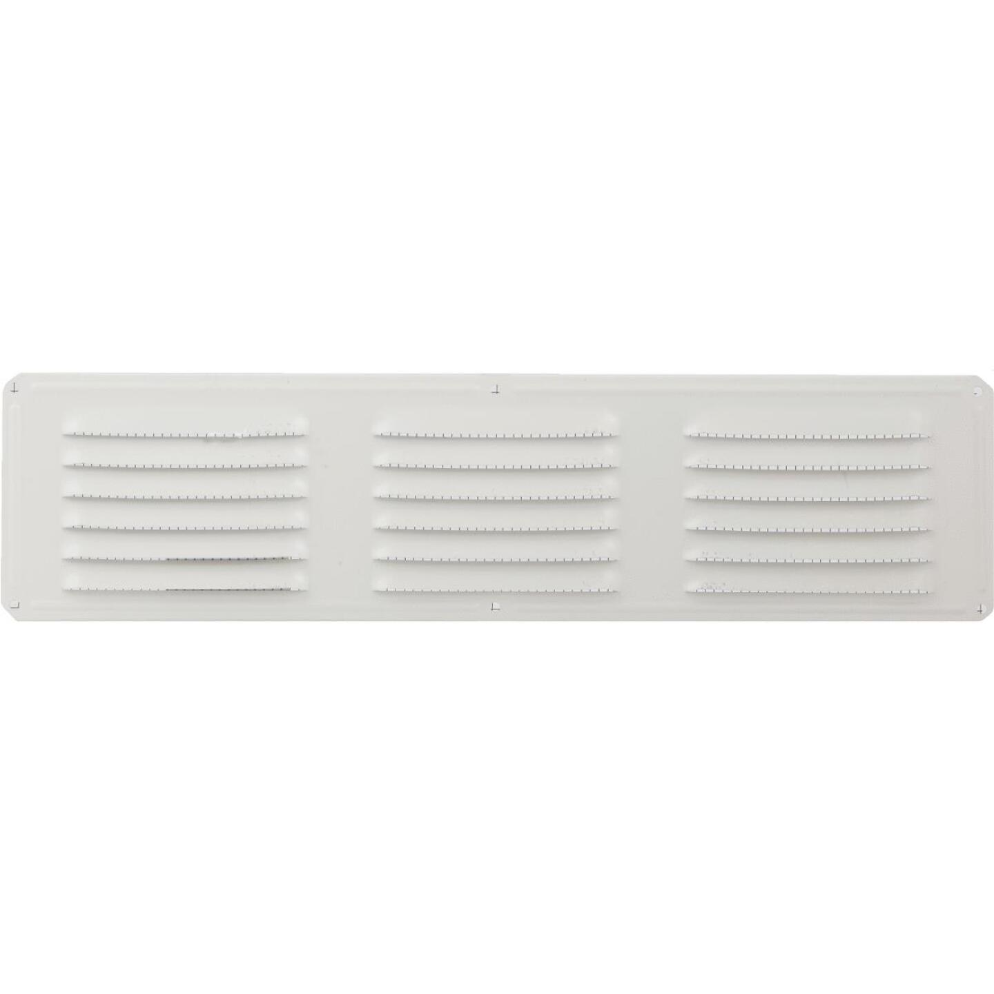 Air Vent 16 In. x 4 In. White Aluminum Under Eave Vent Image 2