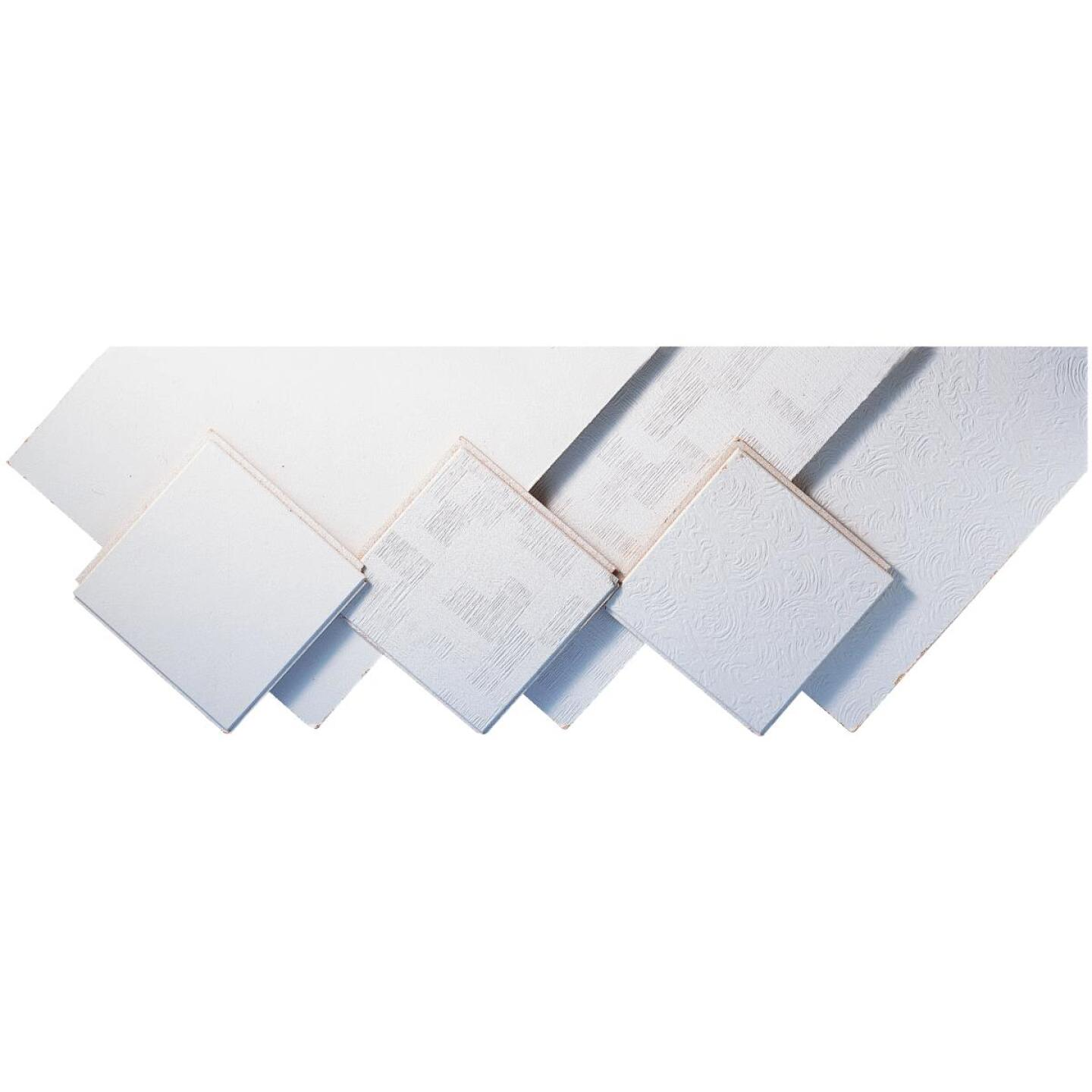 BP Silencio Chablis 12 In. x 12 In. White Wood Fiber Nonsuspended Ceiling Tile (32-Count) Image 2