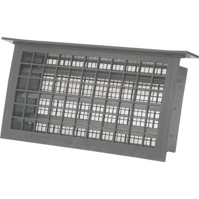 Witten 8 In. x 16 In. Gray Automatic Foundation Ventilator with Lentil