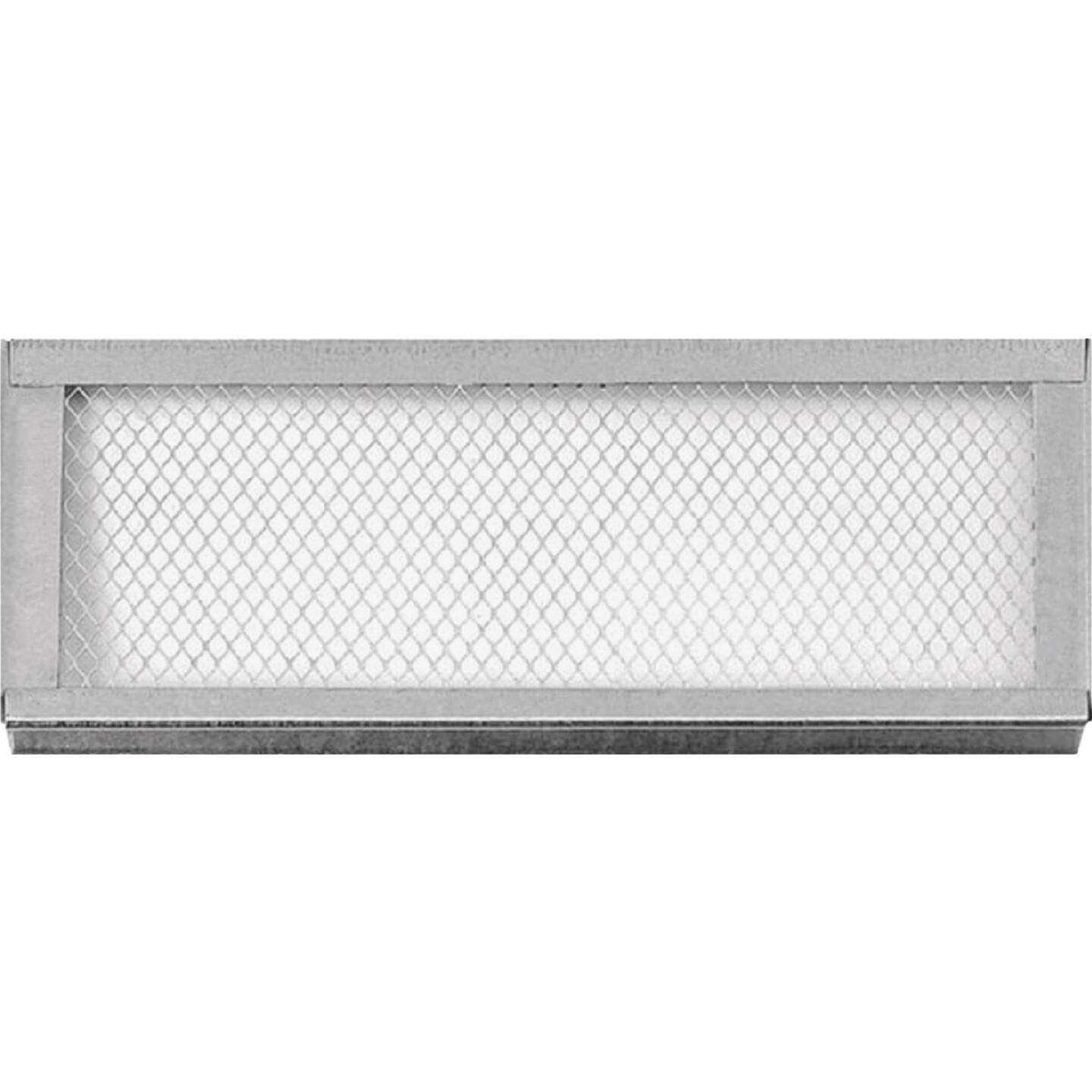 Bay Cities Metal 6 x14 Snap-In Foundation Vent Image 1