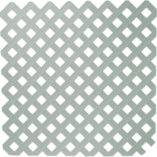 Dimensions 4 Ft. W x 8 Ft. L x 3/16 In. Thick Paintable Vinyl Privacy Lattice Panel