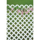 Dimensions 4 Ft. W x 8 Ft. L x 1/8 In. Thick White Vinyl Lattice Panel Image 4