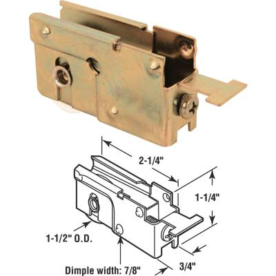 Slide-Co 1-1/2 In. Dia. x 3/4 In. W. x 2-1/4 In. L. Nylon Patio Door Roller with Housing Assembly
