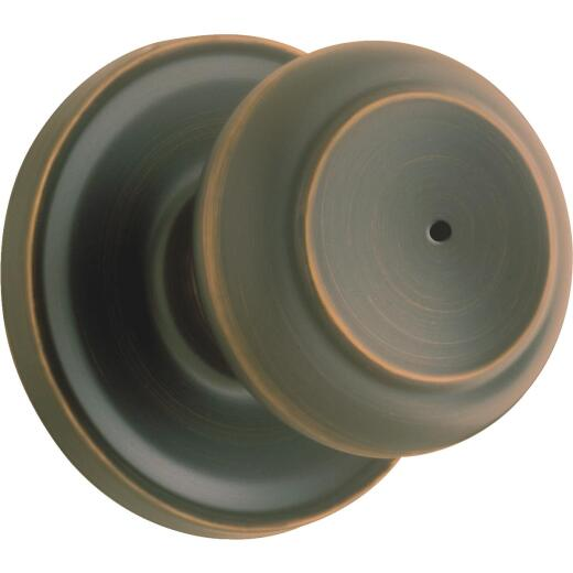 Weiser Troy Venetian Bronze Bed & Bath Door Knob
