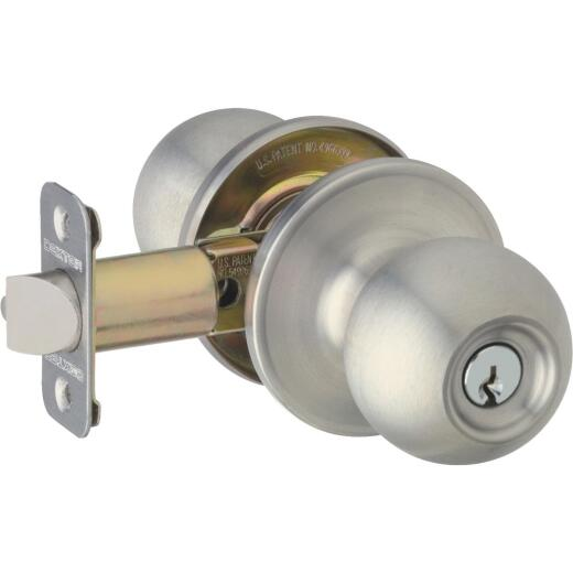 Dexter Satin Nickel Entry Door Knob