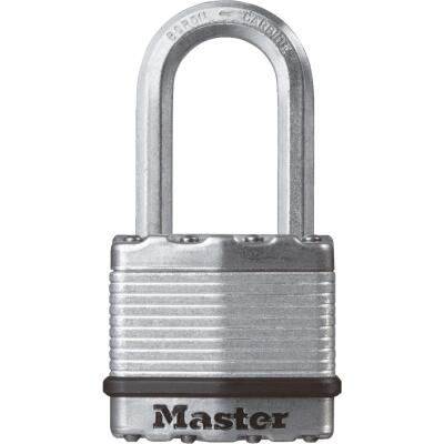 Master Lock Magnum 1-3/4 In. W. Dual-Armor Keyed Different Padlock with 1-1/2 In. L. Shackle