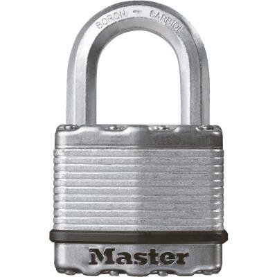 Master Lock Magnum 2 In. W. Dual-Armor Keyed Alike Padlock with 1 In. L. Shackle