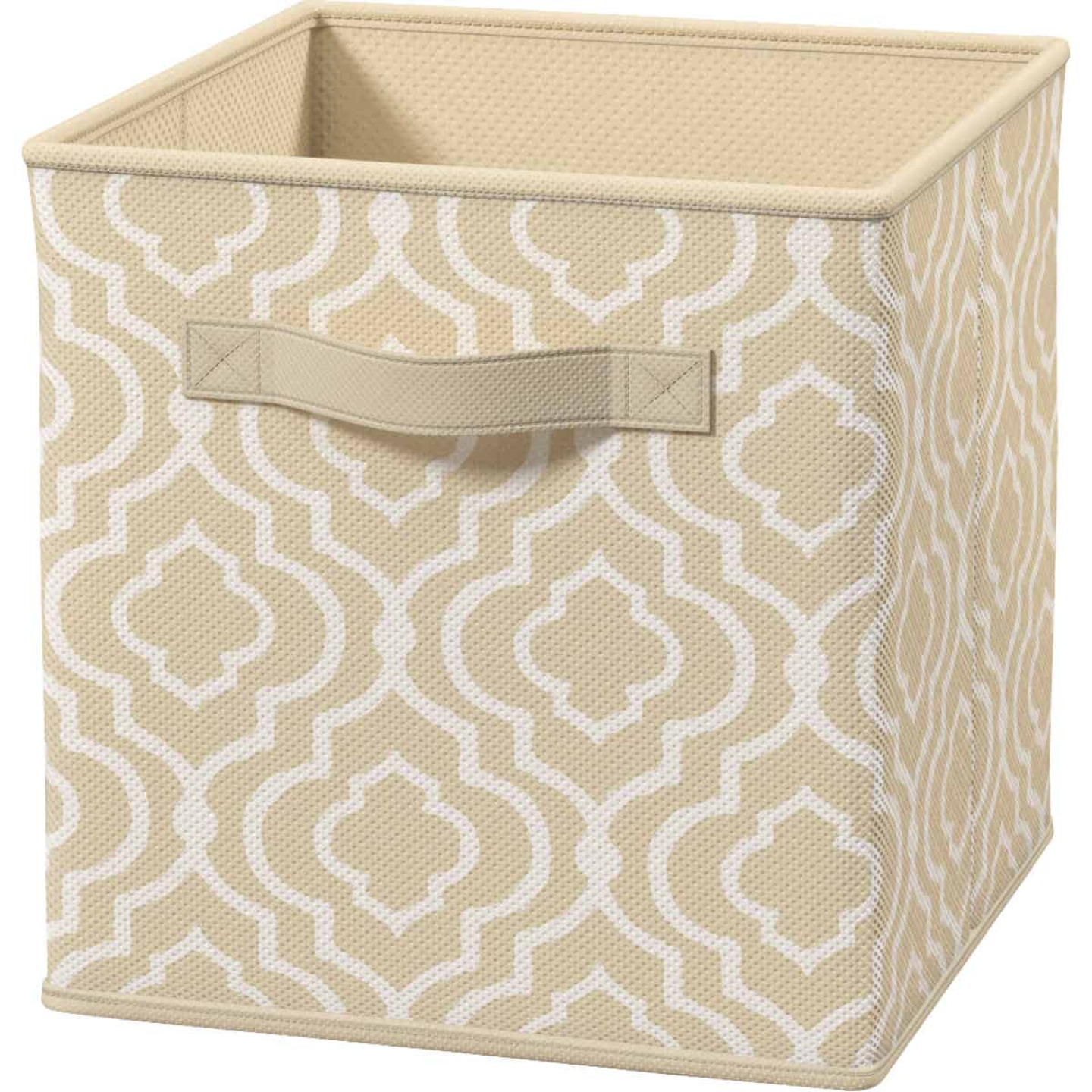 ClosetMaid Cubeicals 10.5 In. W. x 11 In. H. Beige Fabric Drawer Image 1