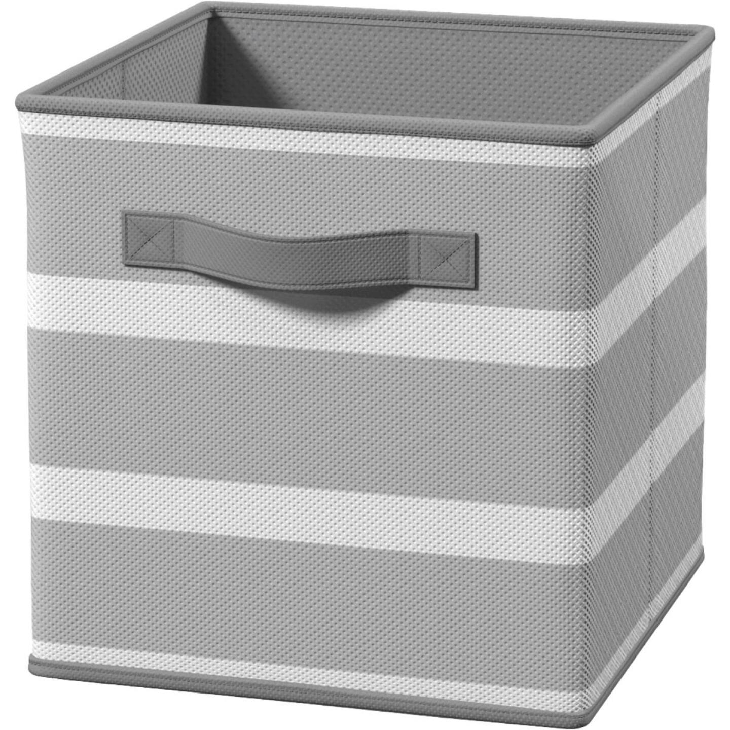 ClosetMaid Cubeicals 10.5 In. W. x 11 In. H. Gray Fabric Drawer Image 1