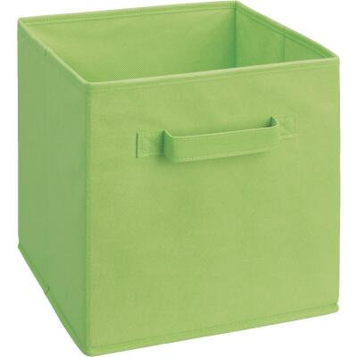 ClosetMaid Cubeicals 10.5 In. W. x 11 In. H. Lime Green Fabric Drawer