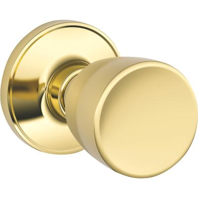 Dexter Bright Brass Hall & Closet Door Knob