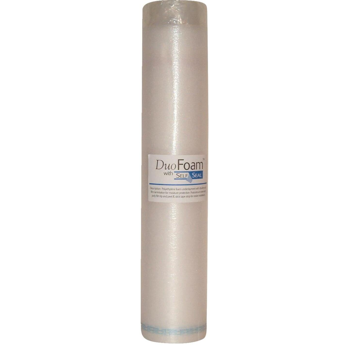 DuoFoam 40 In. W x 30.3 Ft. L Self-Seal Underlayment, 100 Sq. Ft./Roll Image 1