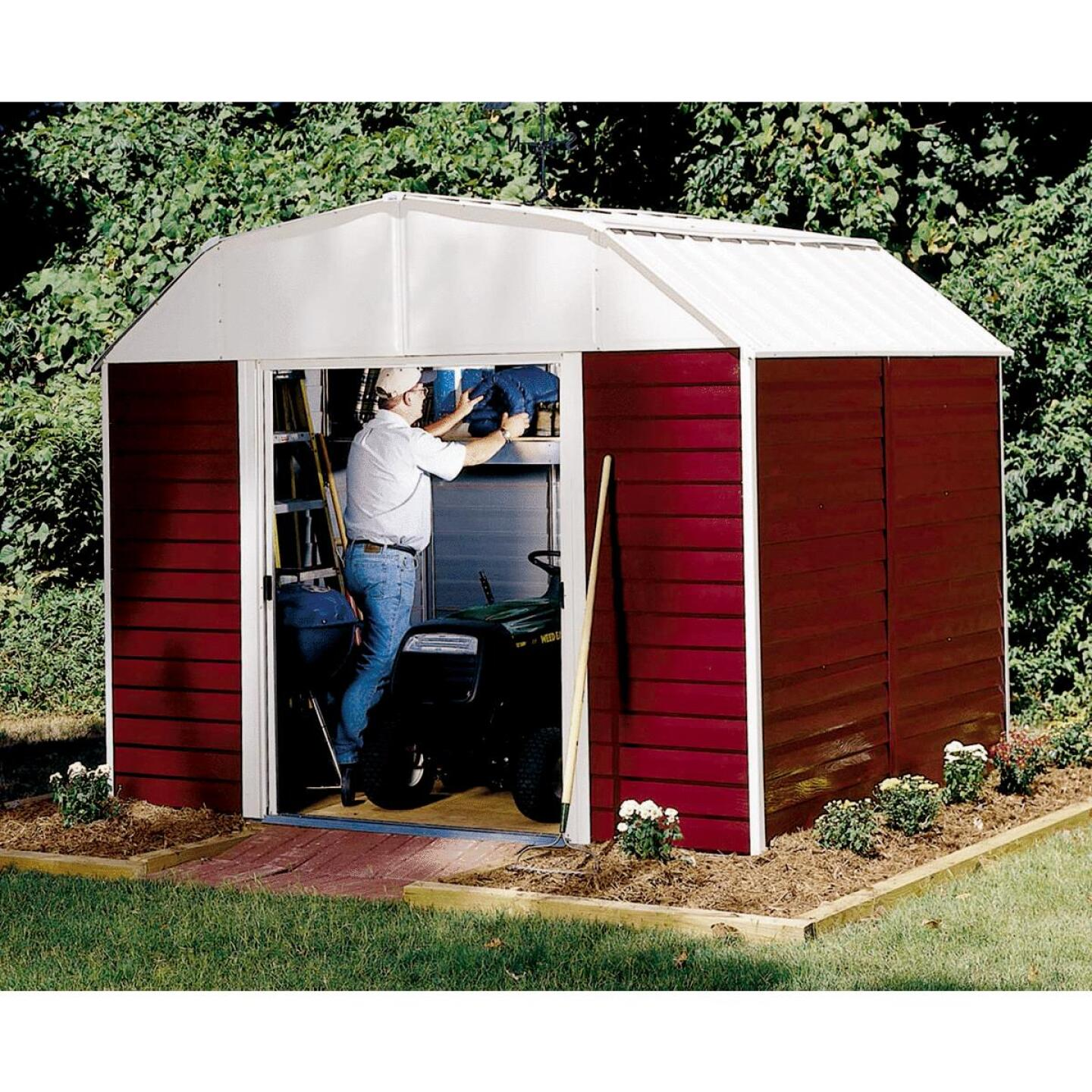 Arrow Red Barn 10X8 Storage Shed Image 1