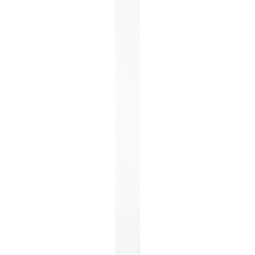 Continental Cabinets 3 In. x 30 In. White Wall/Base Cabinet Filler