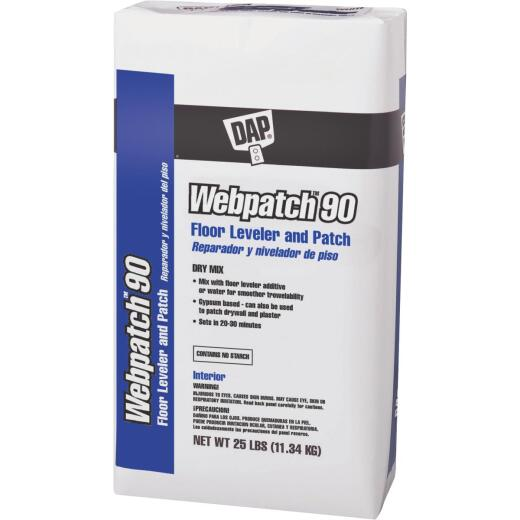 DAP Webpatch 90 Floor Leveler and Patch, Off White, 25 Lbs.