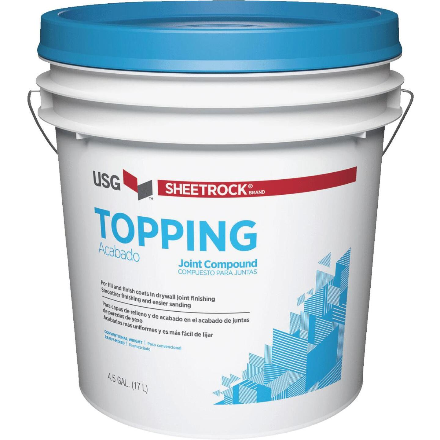 Sheetrock 4.5 Gal. Pre-Mixed Topping Drywall Joint Compound Image 1