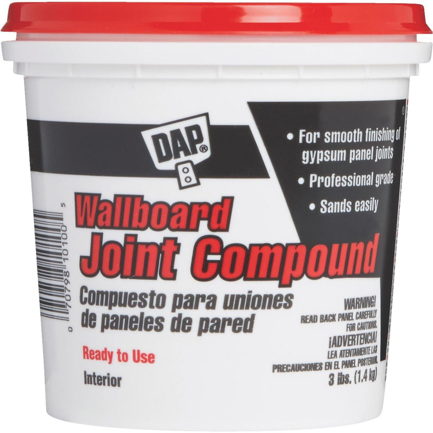 Dap 3 Lb. Pre-Mixed Latex Wallboard Drywall Joint Compound Image 1