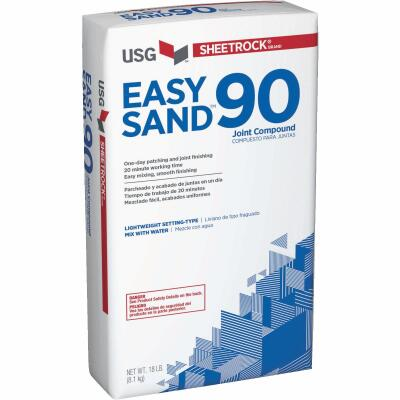 Sheetrock Easy Sand 90 Lightweight Setting Type 18 Lb. Drywall Joint Compound