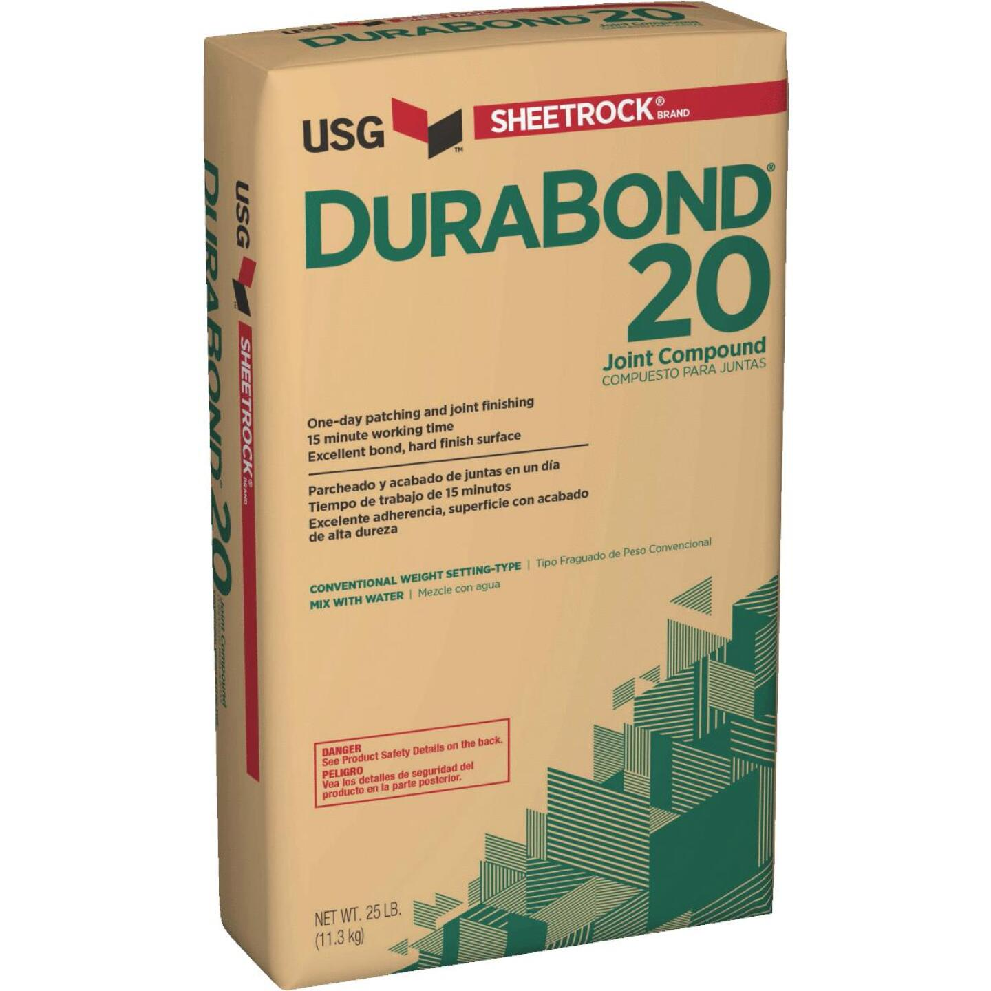 Sheetrock Durabond 20 Setting Type 25 Lb. Drywall Joint Compound Image 1
