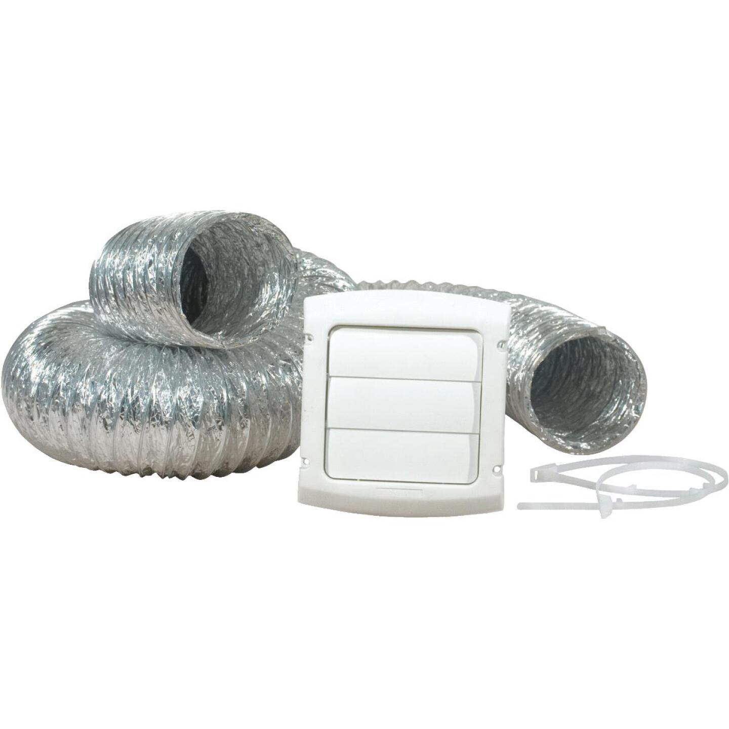 Dundas Jafine White Gas or Electric Dryer Vent Kit (4-Piece) Image 1