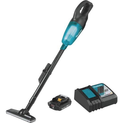 Makita 18-Volt LXT 2.0 Ah Cordless Bagless Stick Vacuum Cleaner Kit