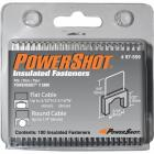 Arrow PowerShot Insulated White Cable Staple, 5/16 In. (100-Pack) Image 1