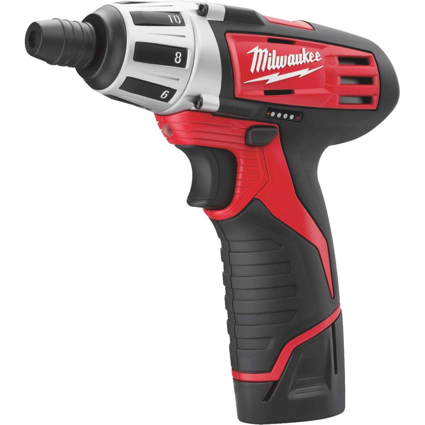 Milwaukee 2-Tool M12 12V Lithium-Ion Screwdriver & Reciprocating Saw Cordless Tool Combo Kit Image 2
