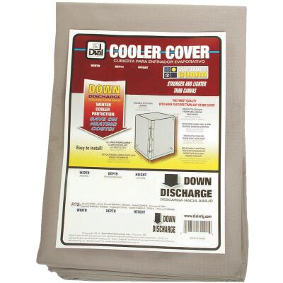 Dial 40 In. W x 40 In. D x 43 In. H Polyester Evaporative Cooler Cover, Down Discharge