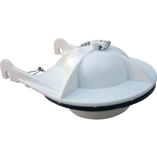 Lasco American Standard Cadet 3 In. Rubber Toilet Flapper with Chain
