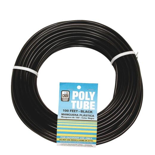 Dial 1/4 In. OD x 1000 Ft. L Black Poly Tubing