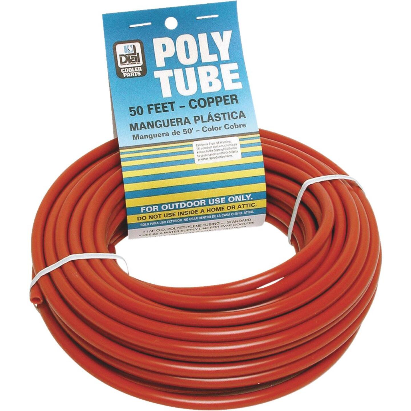 Dial 1/4 In. OD x 50 Ft. L Copper Poly Tubing Image 1