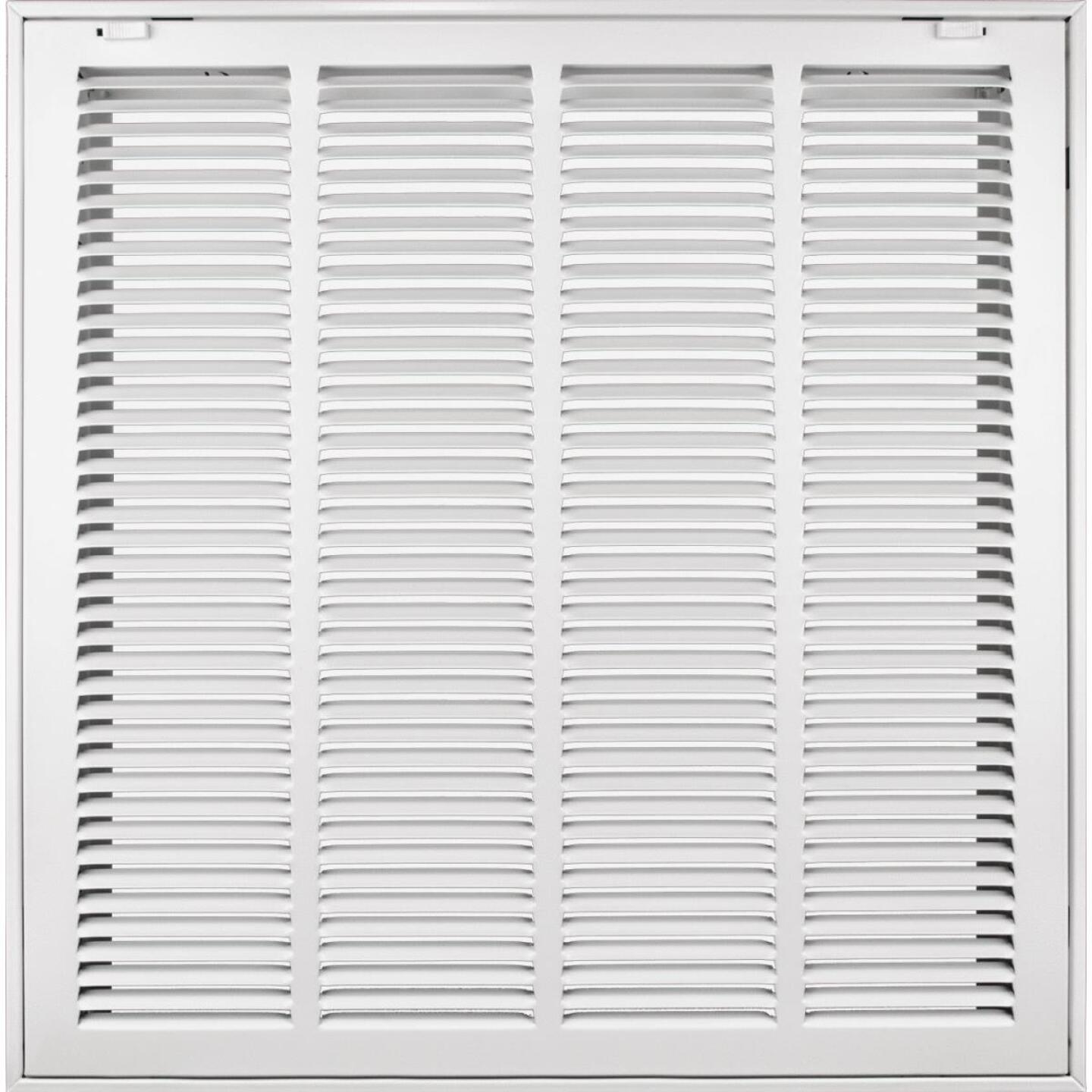 Accord 20 In. x 20 In. White Filter Grille Image 1