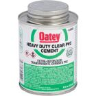 Oatey 8 Oz. Heavy Bodied Clear PVC Cement Image 1