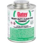 Oatey 16 Oz. Heavy Bodied Clear PVC Cement Image 1