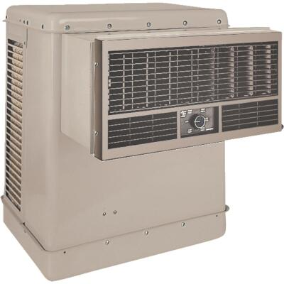 Essick 2800 CFM Front Discharge Window Evaporative Cooler, 400-600 Sq. Ft.