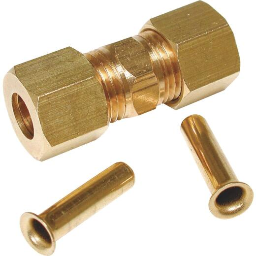 Dial 1/4 In. Brass Compression Union