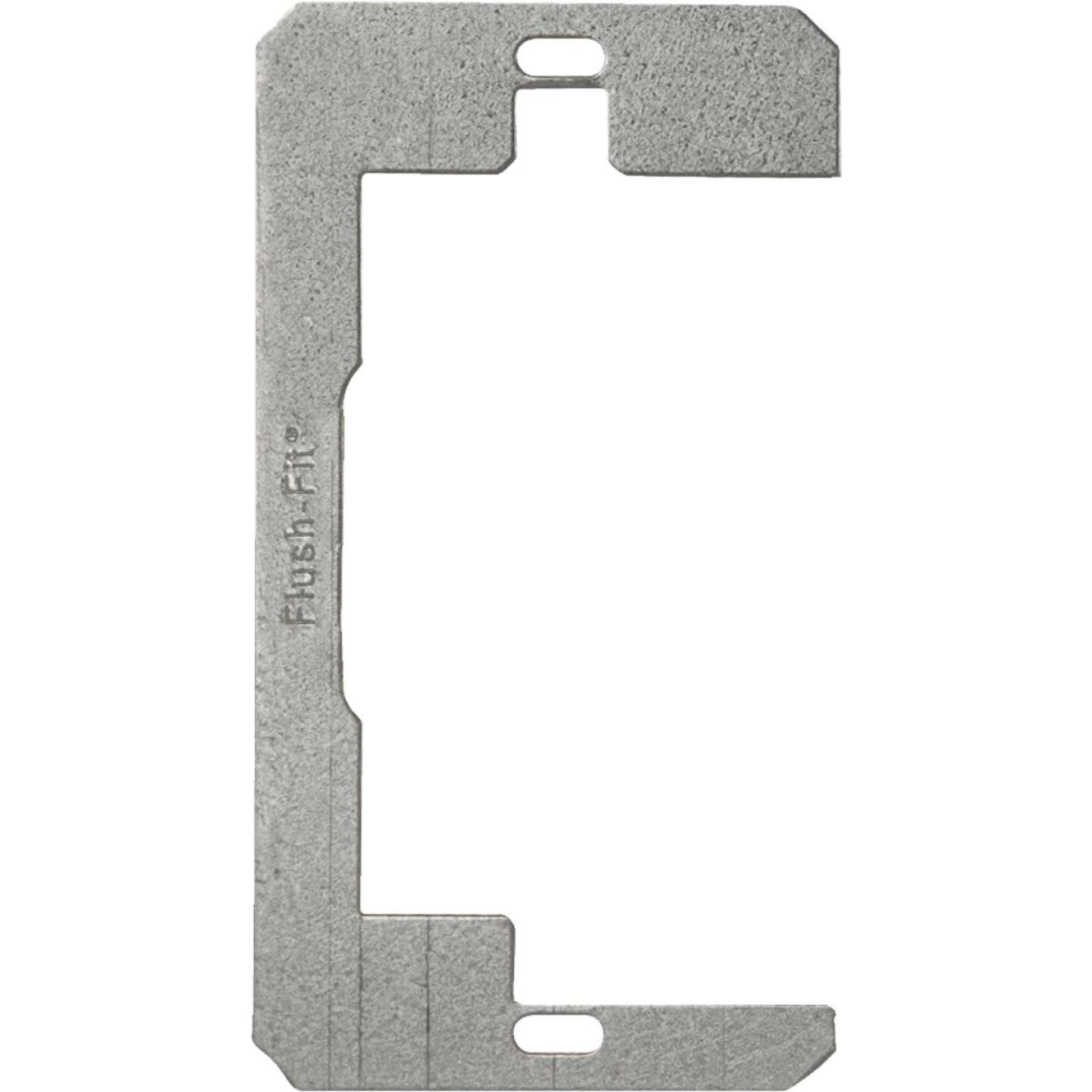 Hubbell Raco Metal 1-Gang Flush-Fit Device Leveling Plate (3-Pack) Image 1