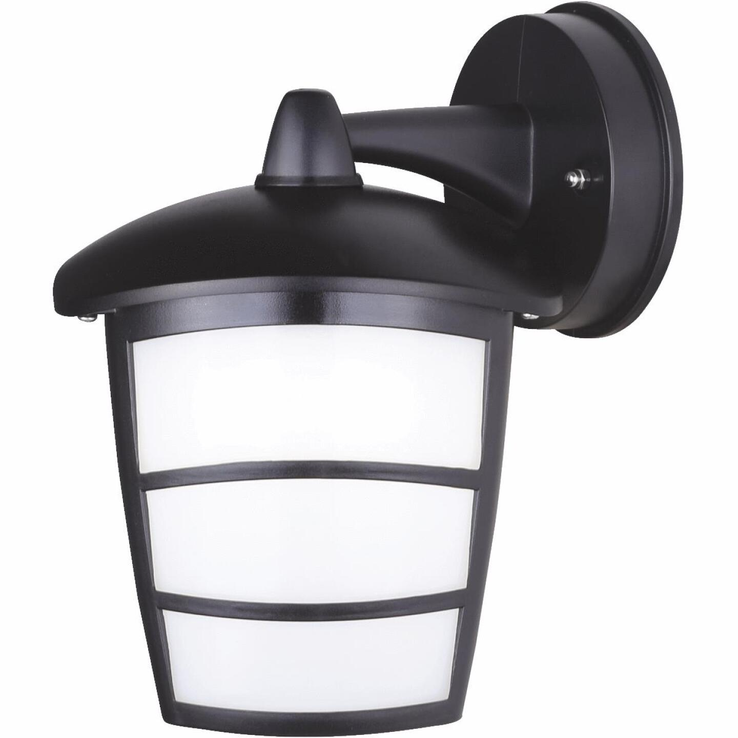 Canarm Black LED Downlight Outdoor Wall Fixture Image 1
