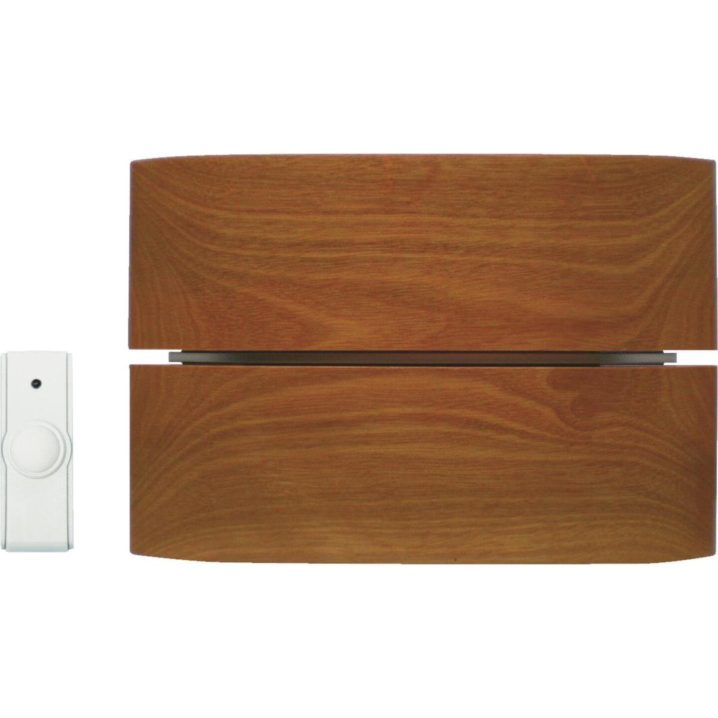 IQ America Step-Up Wireless Wood Door Chime Image 1