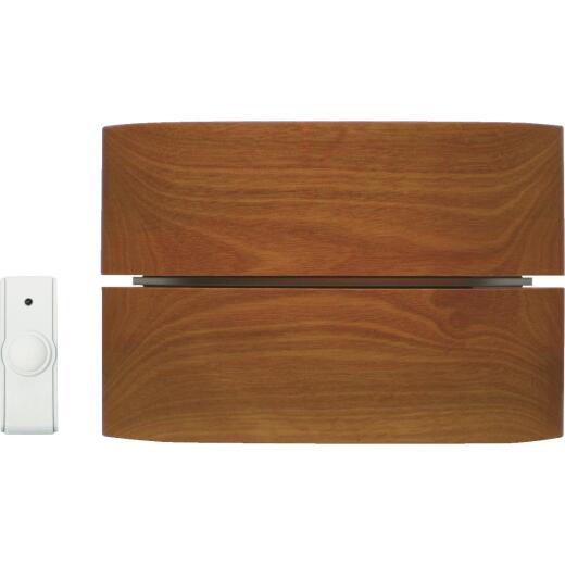 IQ America Step-Up Wireless Wood Door Chime