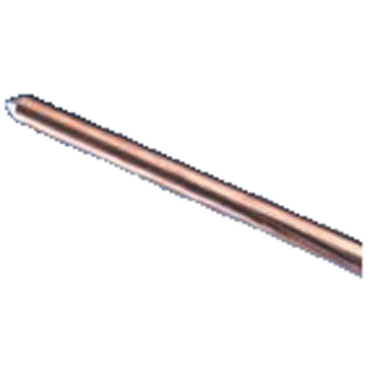 Erico 5/8 In. x 8 Ft. Steel Core Copper Bonded Ground Rod