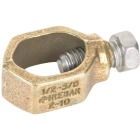 Erico 1/2 In. to 5/8 In. #10 to #2 AWG Ground Rod Clamp Image 1