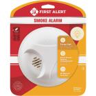 First Alert Battery Operated 9V Ionization Smoke Alarm with Hush Image 4