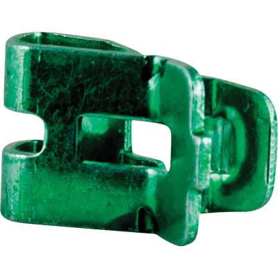 Gardner Bender #12 to #14 AWG Grounding Clip Zinc-Plated Ground Clamp (8-Pack)