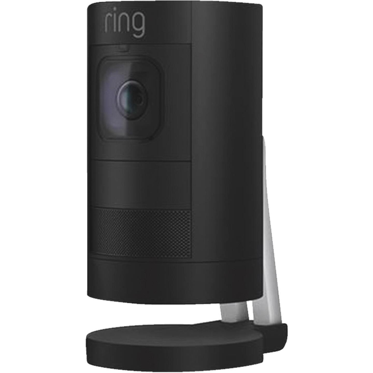 Ring Stick Up Cam Battery Operated Indoor/Outdoor Black Security Camera Image 2