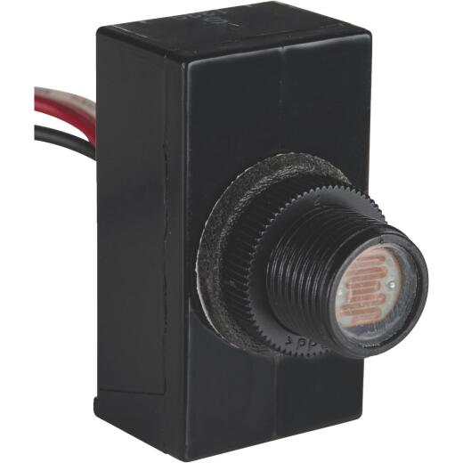 Do it Hard Wire Black Heavy-Duty Post & Box Photocell Lamp Control