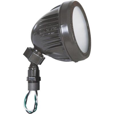 Bell Bronze 13W Die-Cast Aluminum Swivel LED Floodlight Outdoor Lampholder