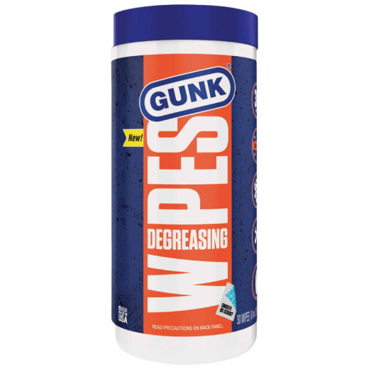 Gunk Degreasing Engine Cleaner Wipes (30-Count)